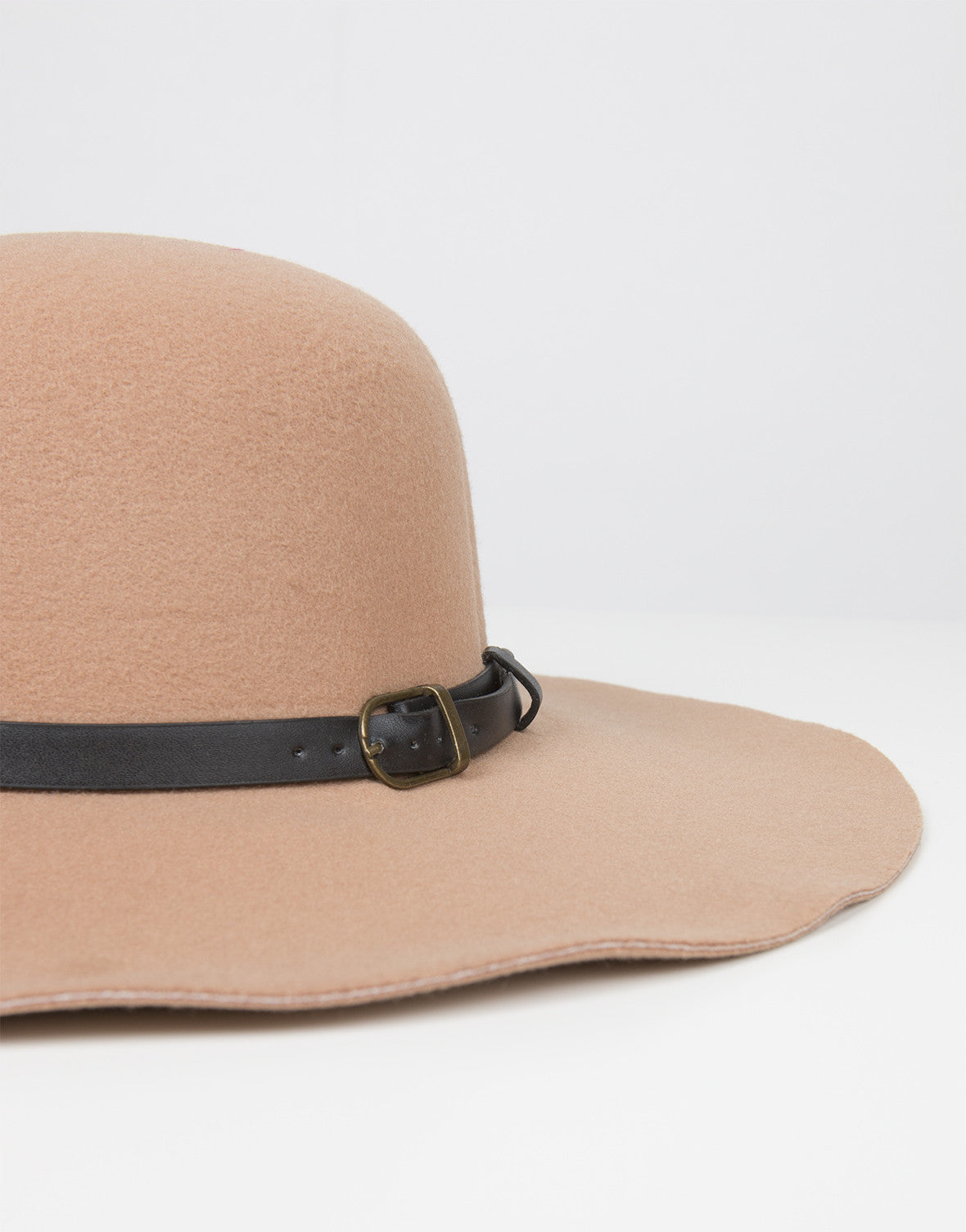 Detail of Belted Floppy Hat
