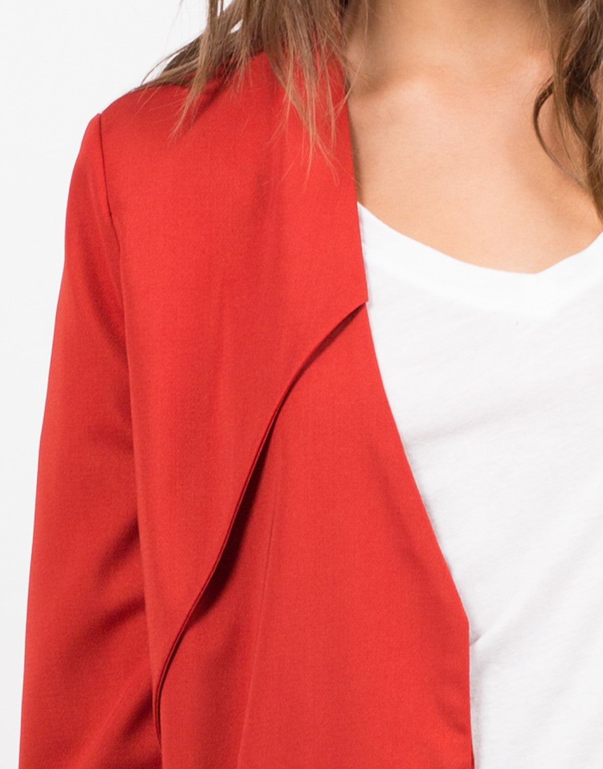 Detail of Belted Trench Coat