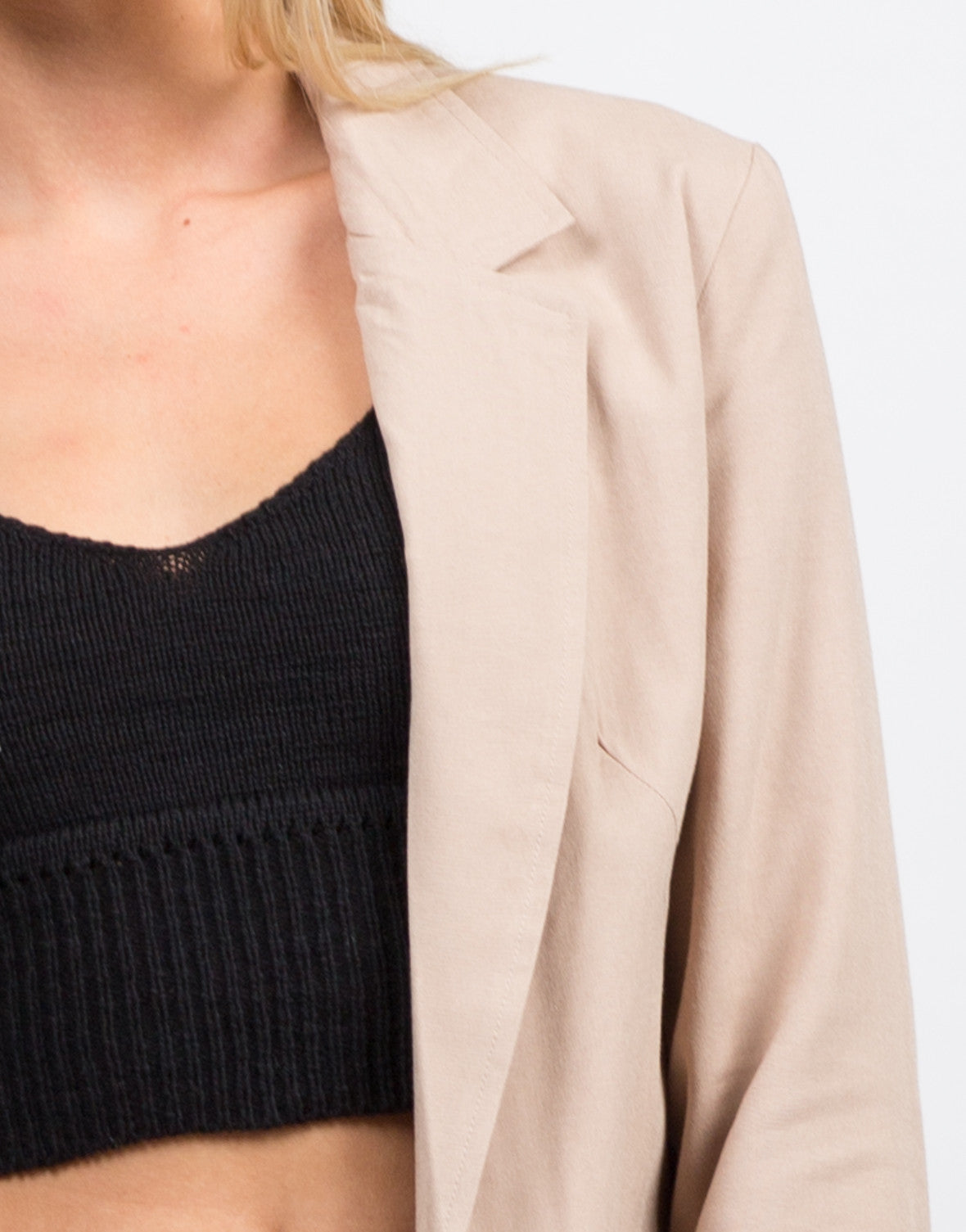 Detail of Belted Utility Jacket
