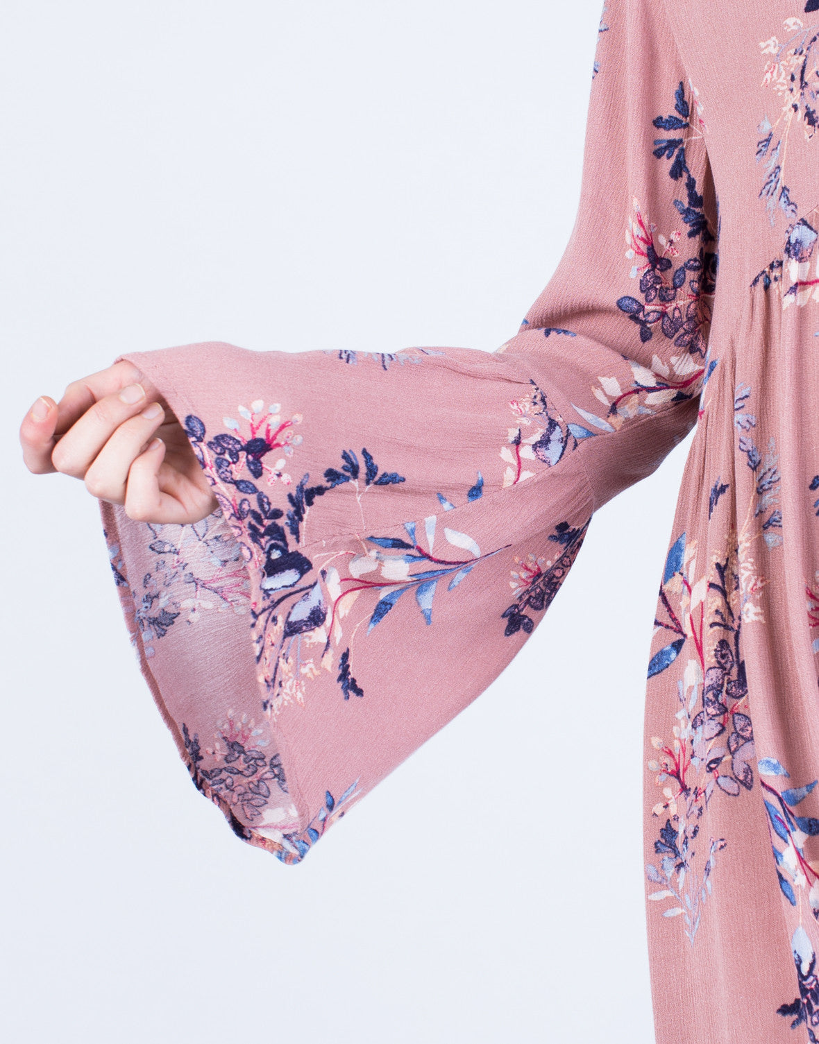 Detail of Blooming Floral Dress