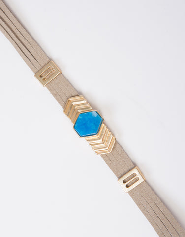 Blue Crush Choker Necklace