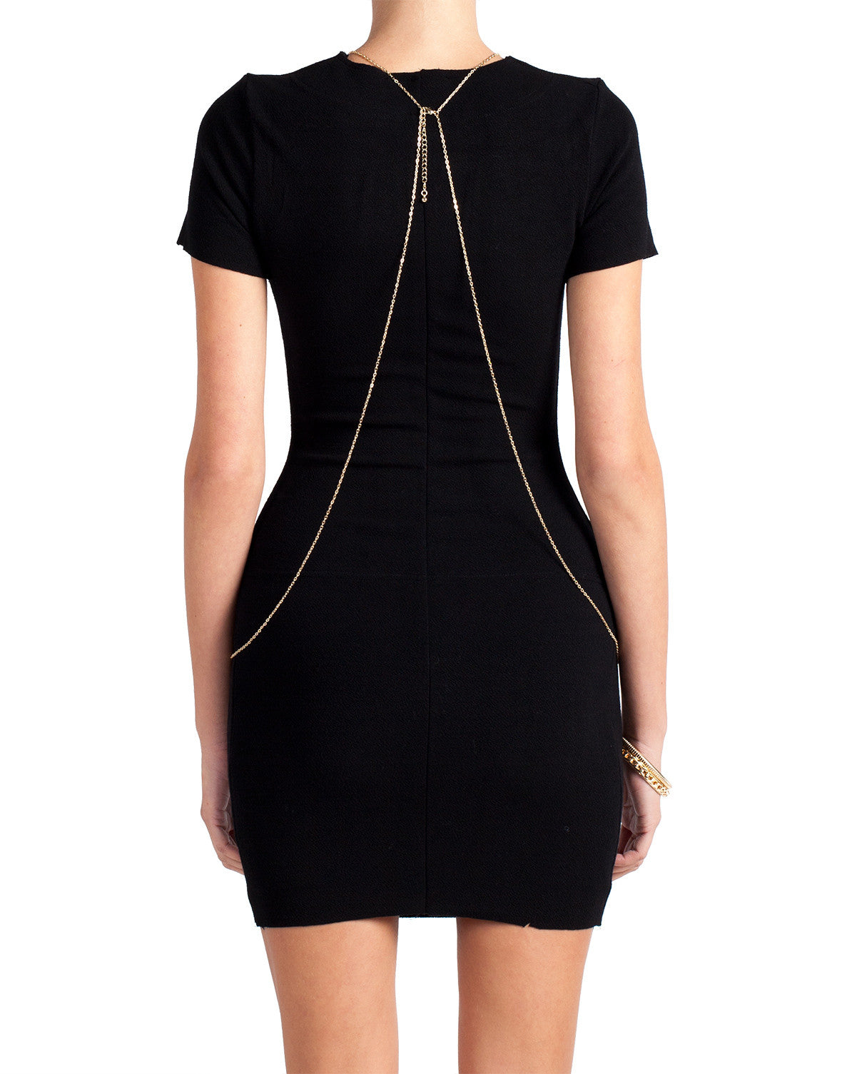 Body Con Short Sleeve Dress