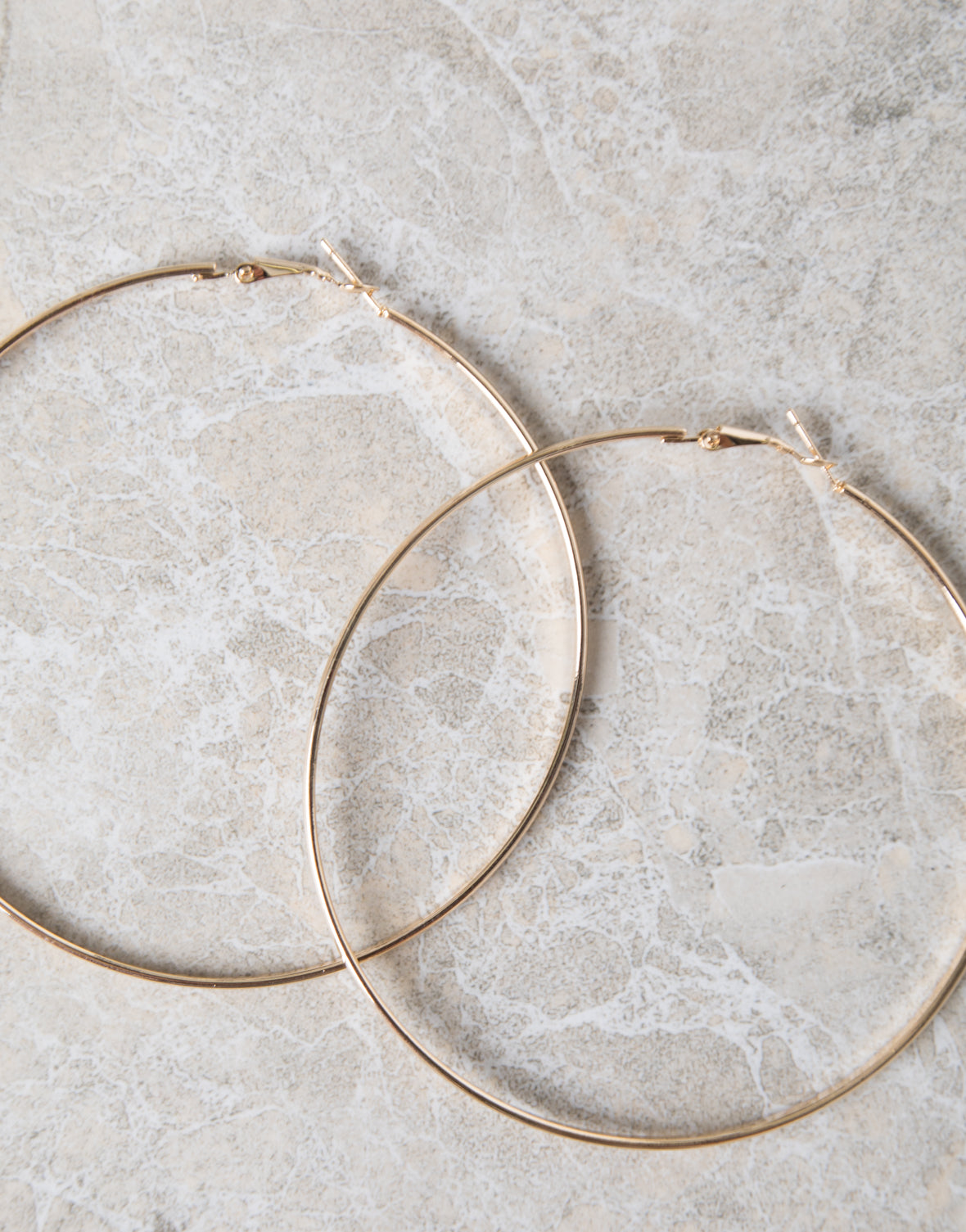 Bold Large Hoops