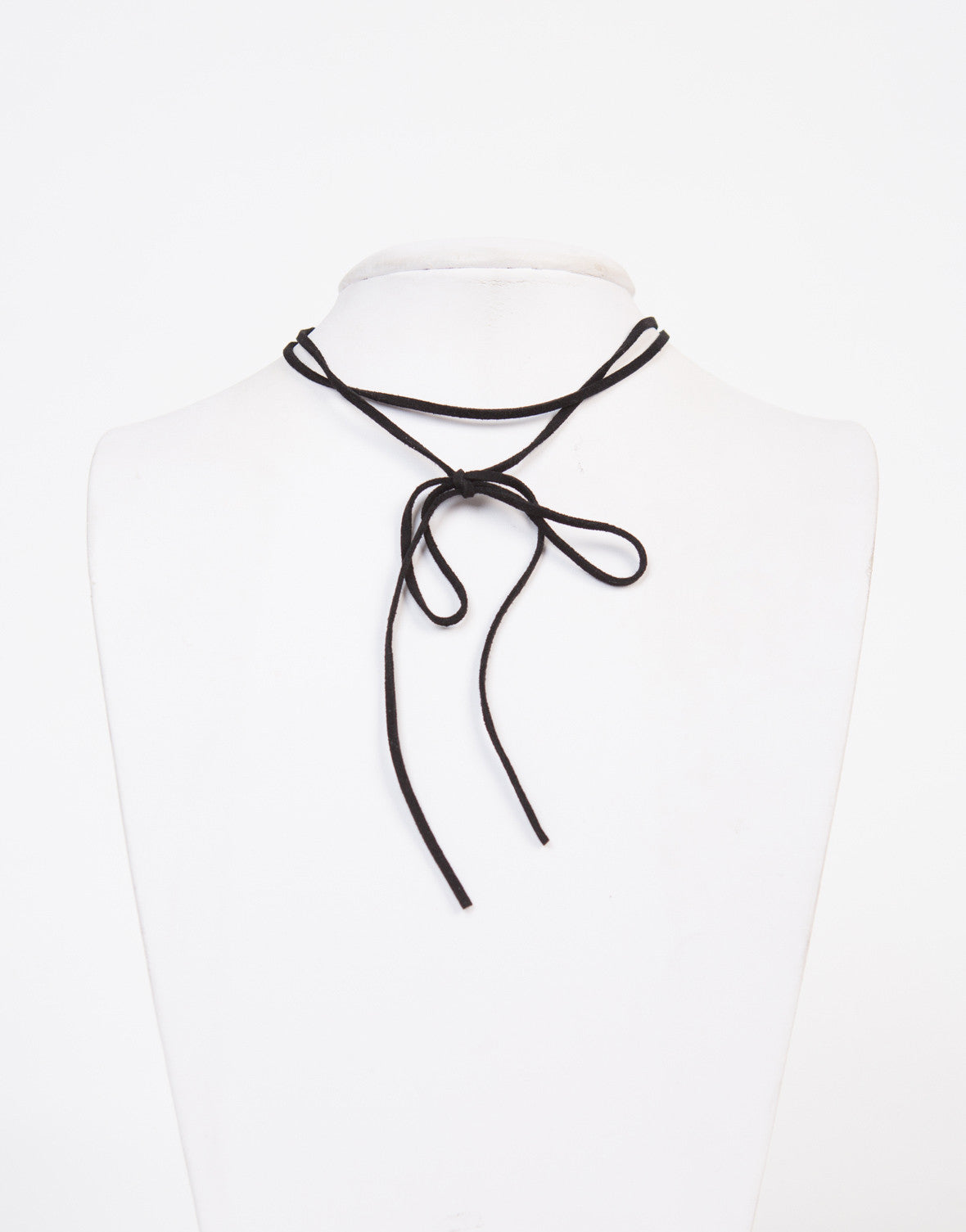 Bow Tie Choker Necklace
