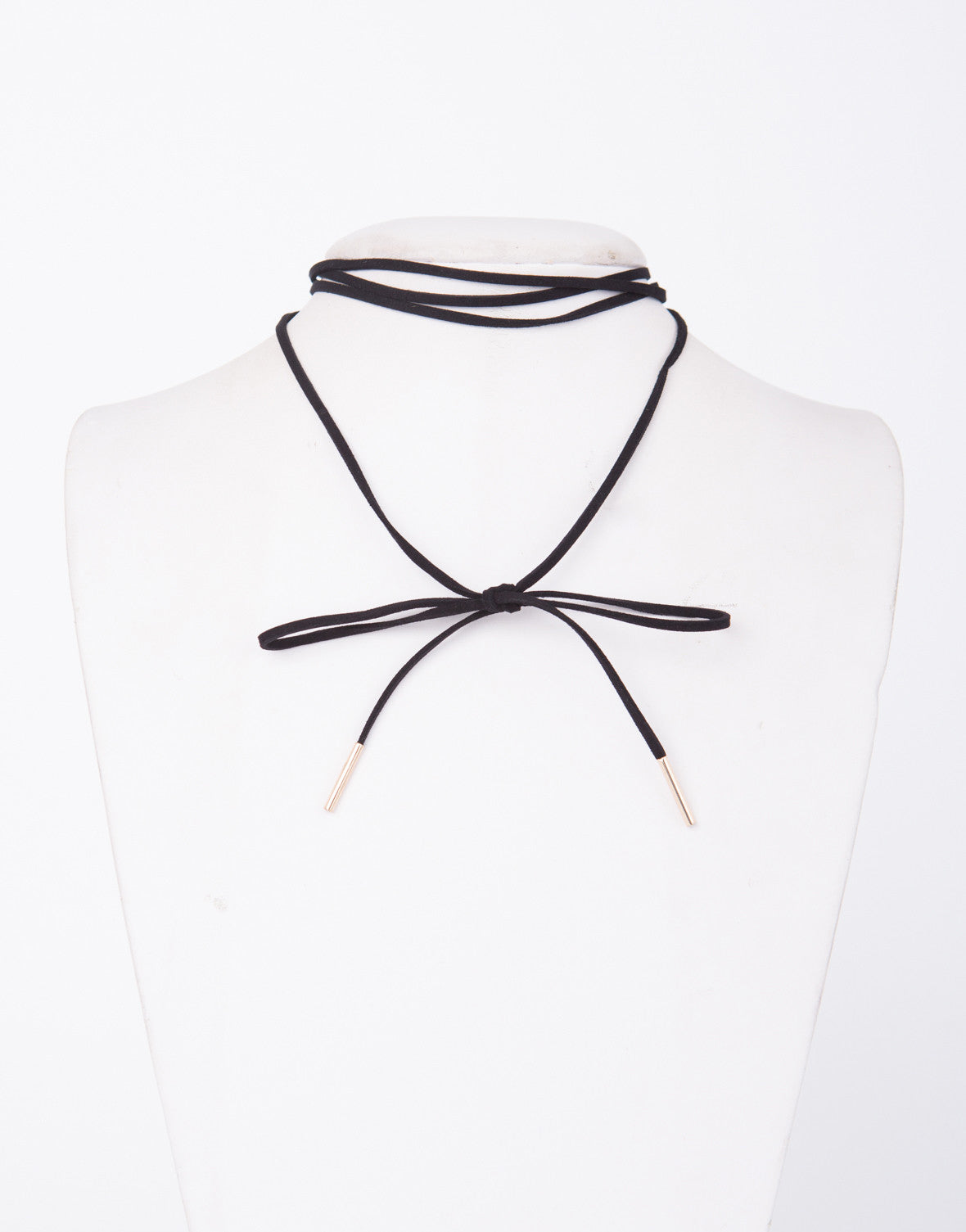Bow Wrap Around Necklace