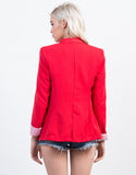 Back View of Boyfriend Blazer