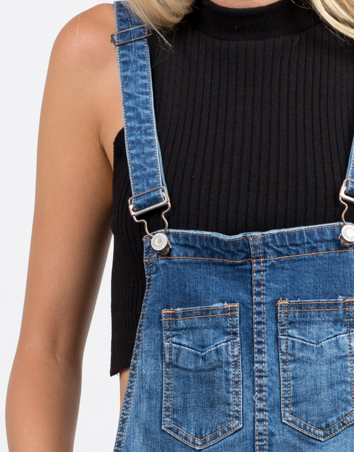 Detail of Boyfriend Overalls