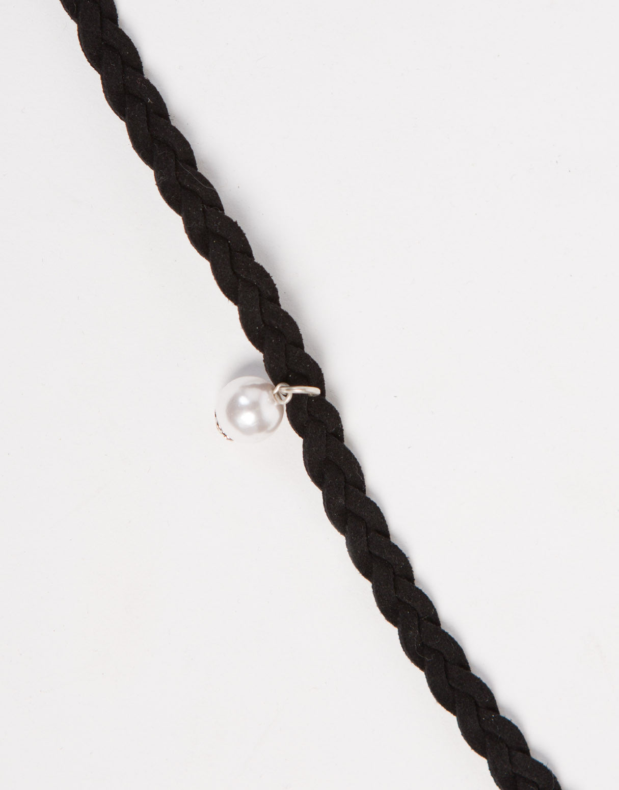 Braided Pearl Choker