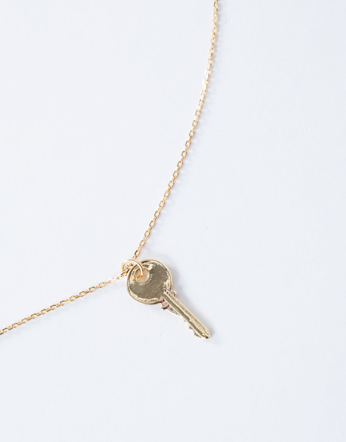 Brave Key Pendant Necklace