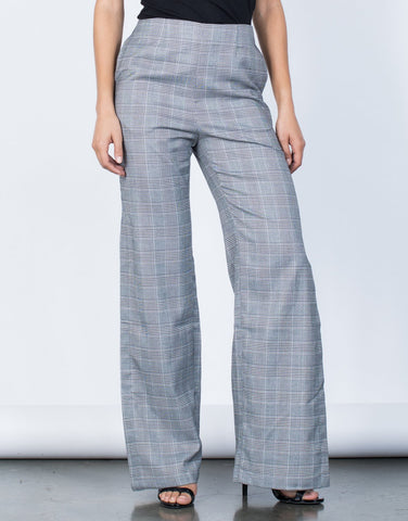 Break Even Plaid Pants