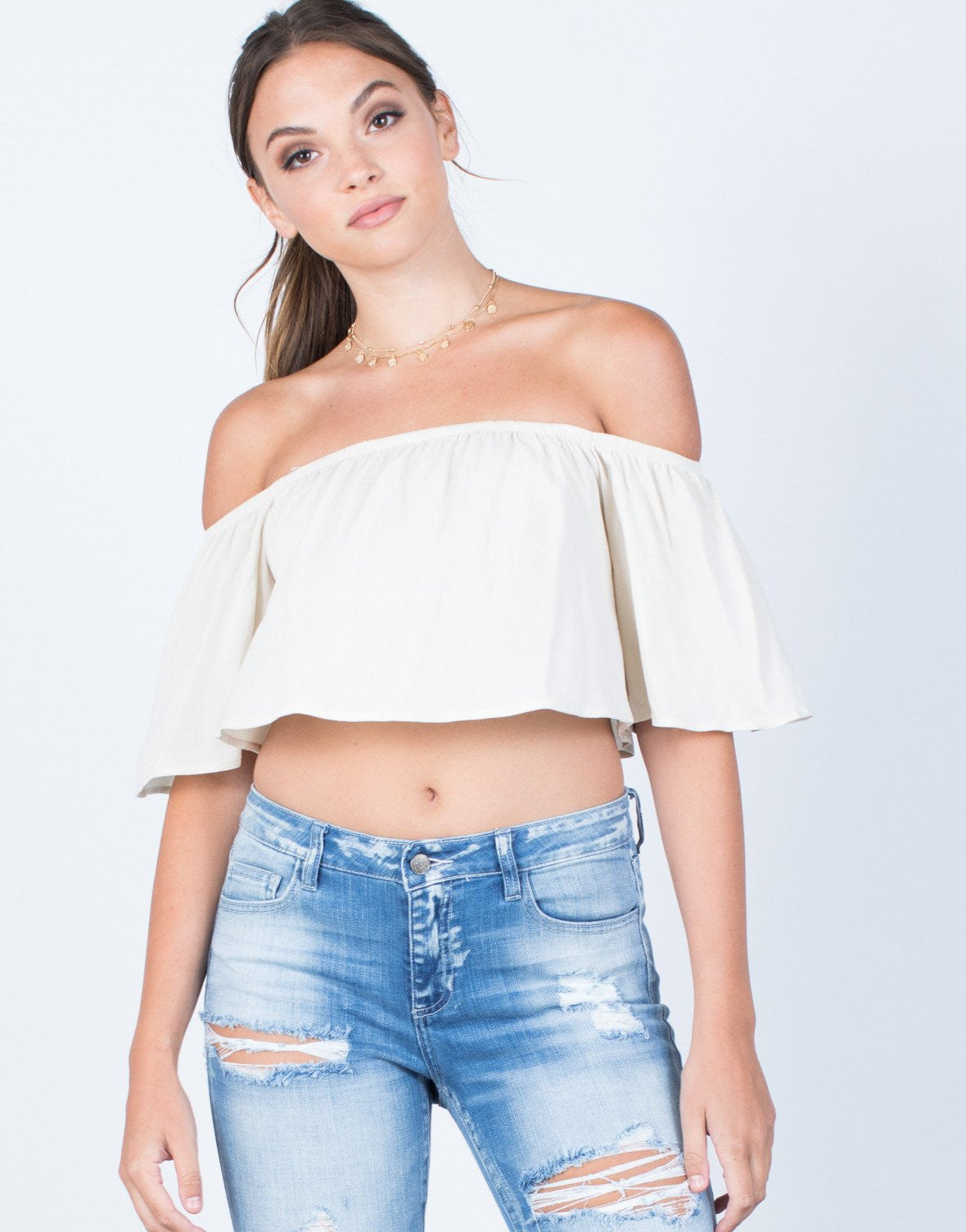 Breezy Crop Top