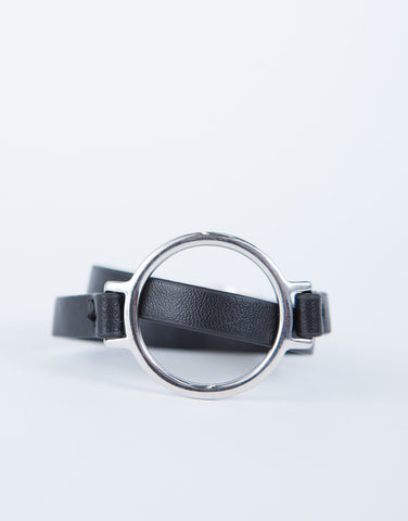 Buckled Leather Bracelet