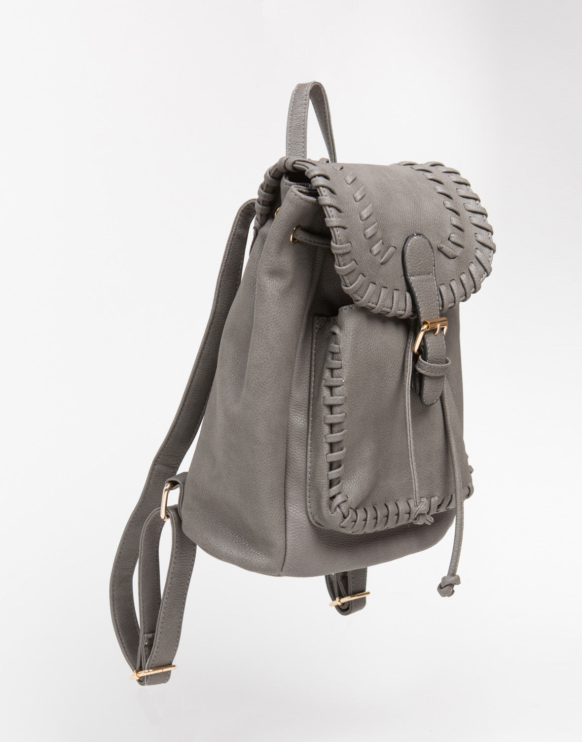 Buckled and Stitched Backpack