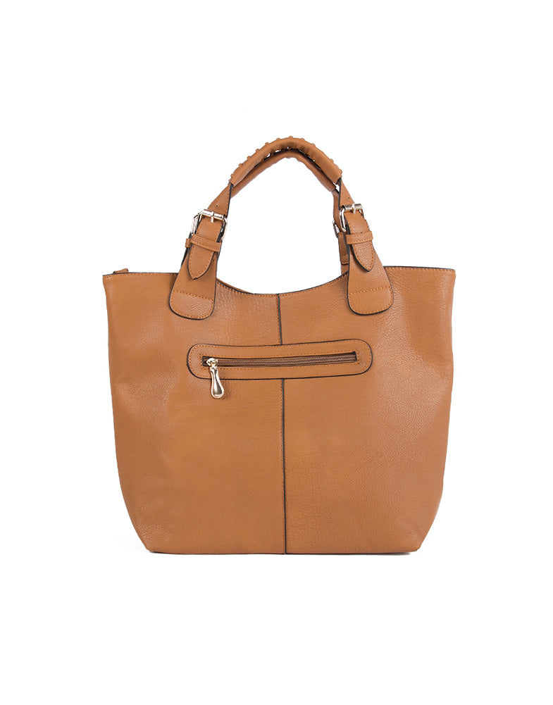 Buckled Tote Bag
