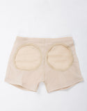 Butt Lifter Boy Shorts - Beige