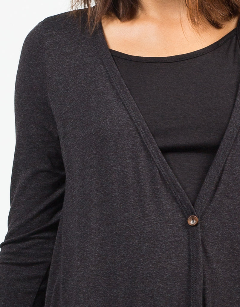 Detail of Buttoned Down Cardigan