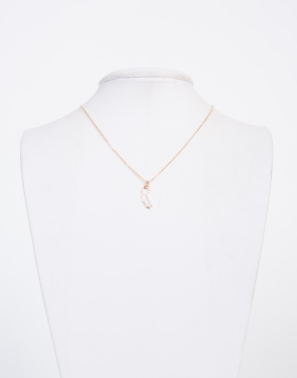 California Cut Out Necklace