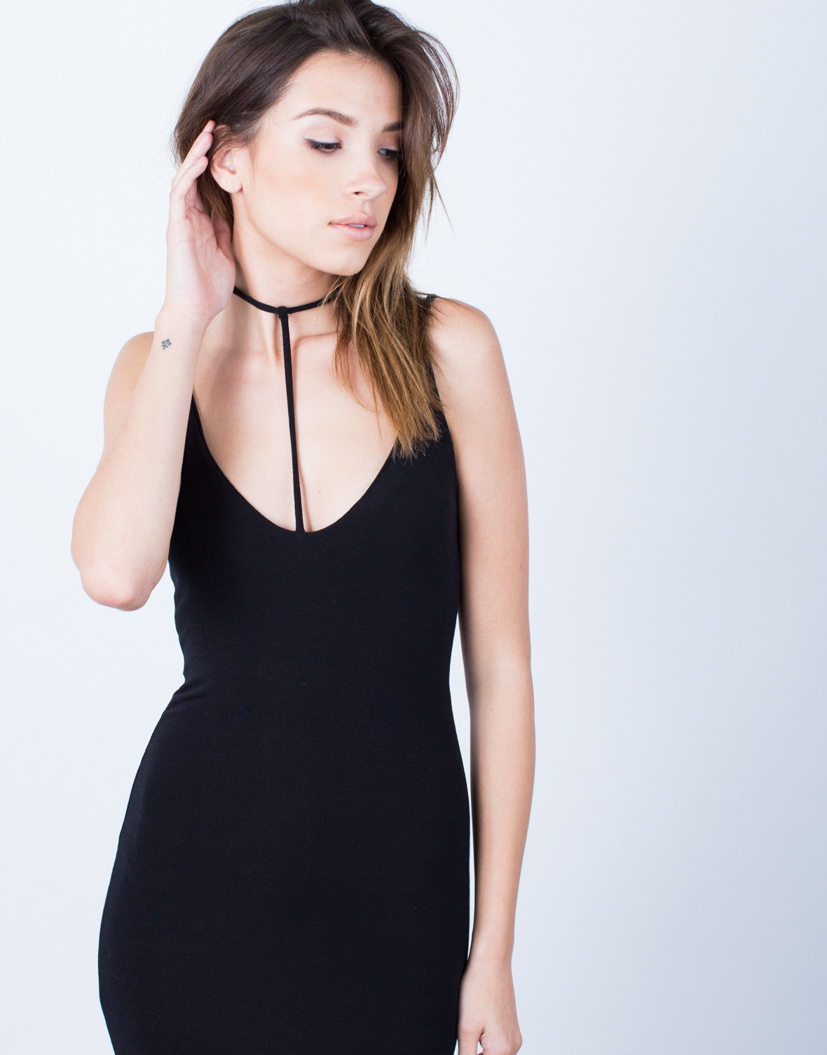 Detail of Cami Choker Dress