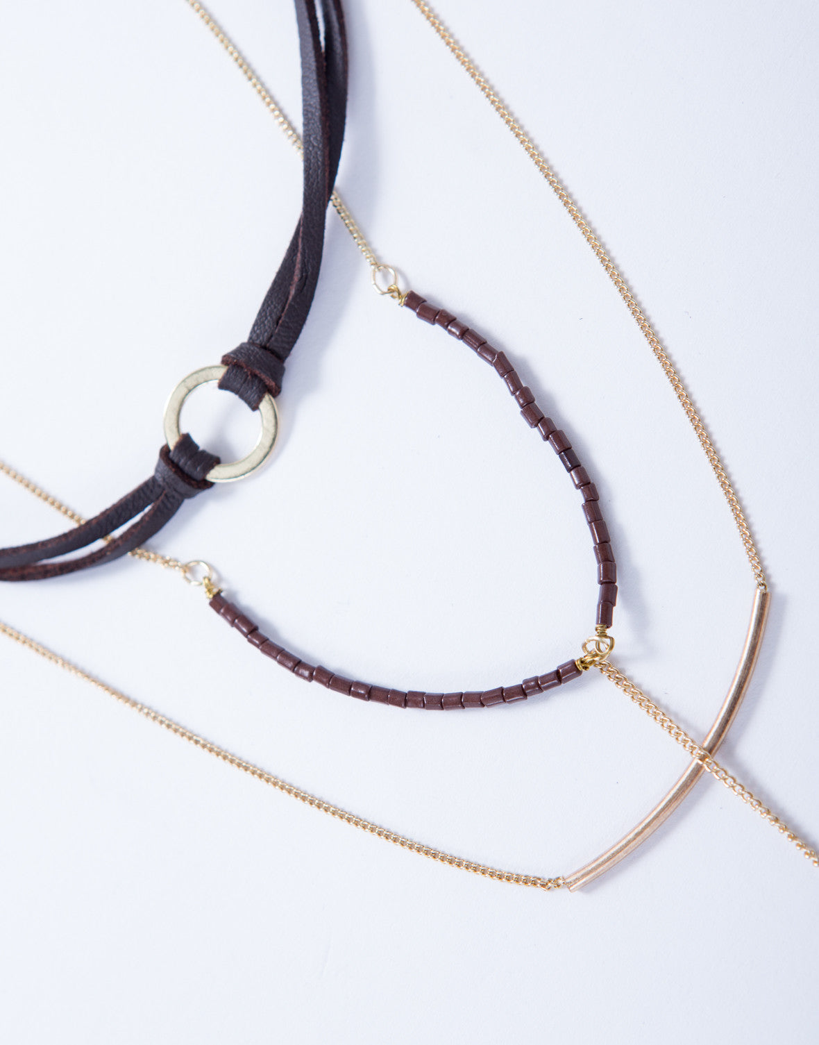 Captivated Layered Choker Necklace