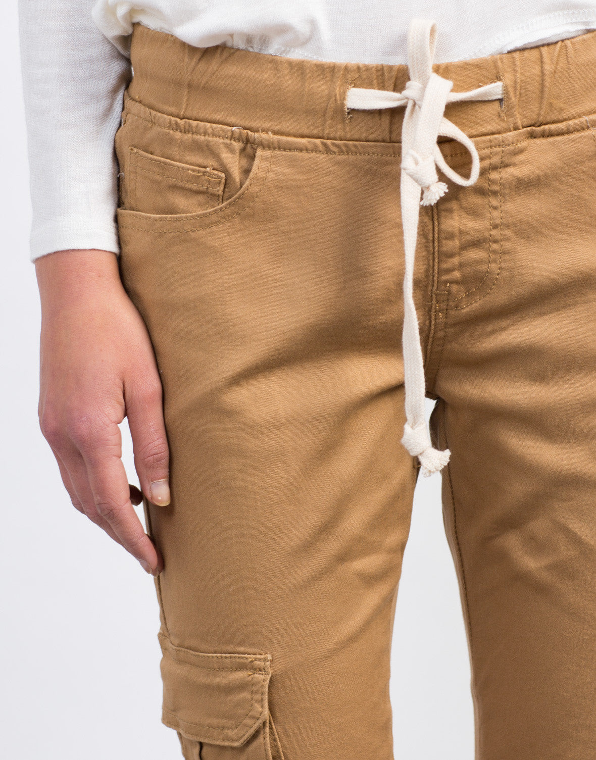 Detail of Cargo Skinny Pants