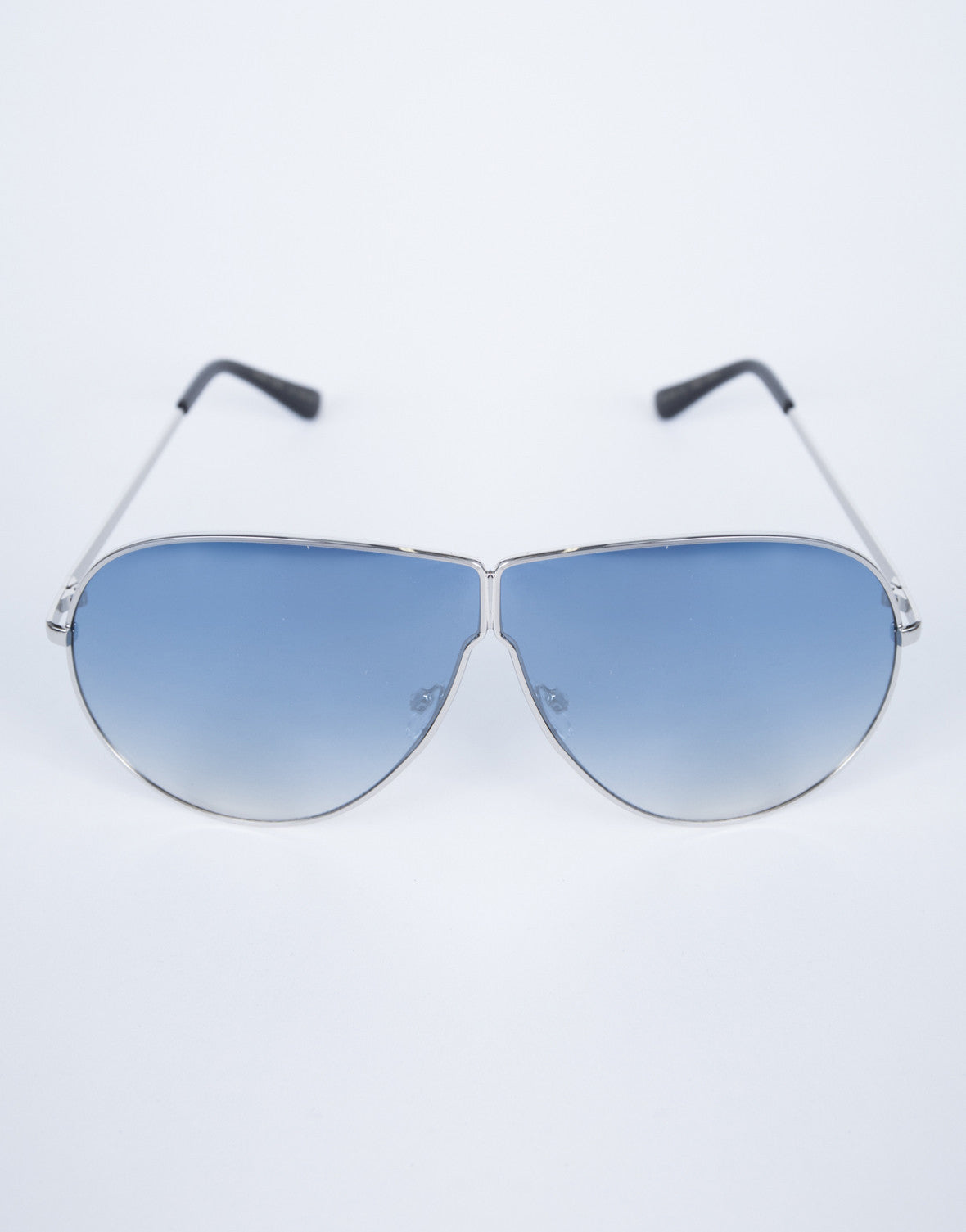 Blue Carmen Shield Sunnies - Detail