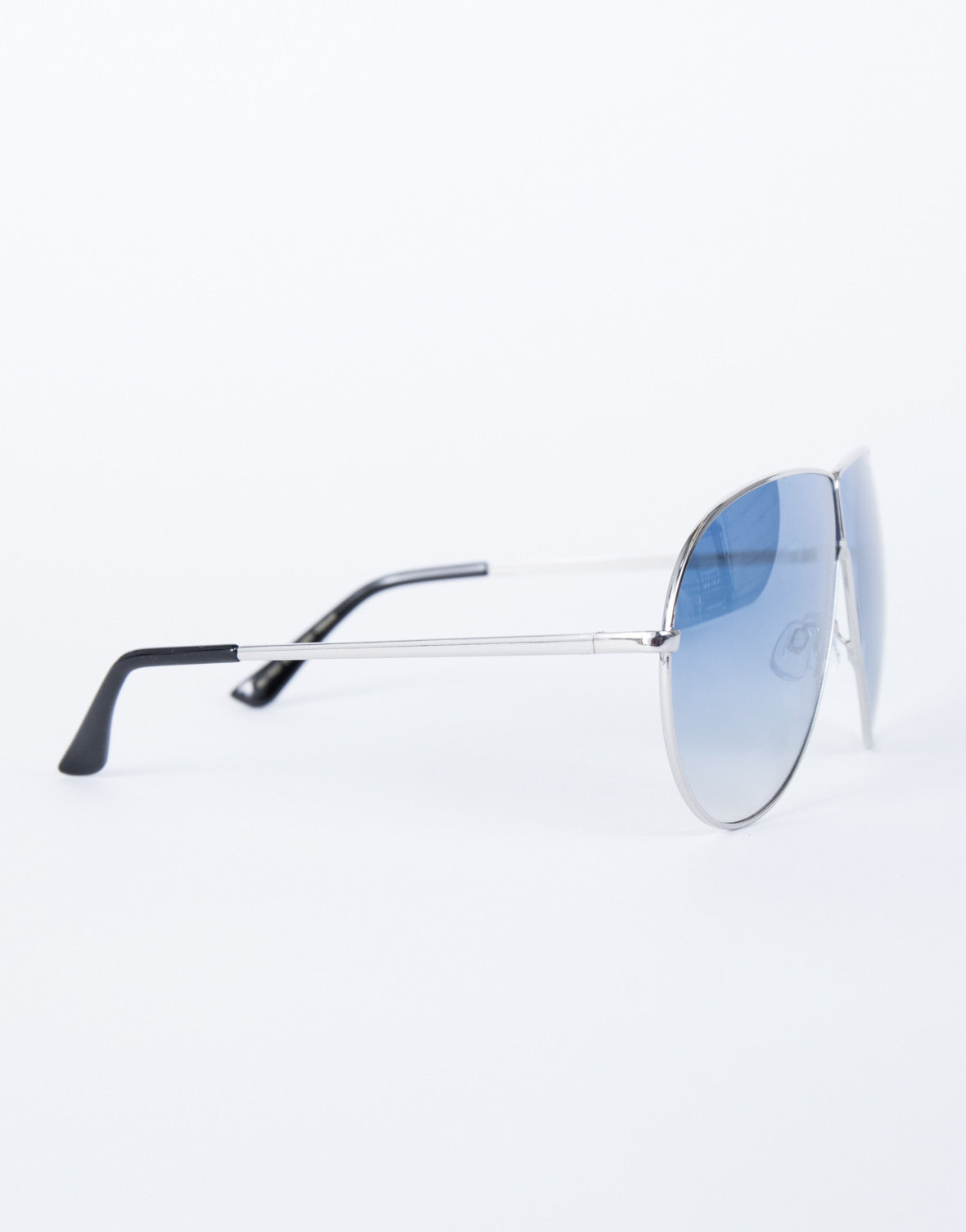 Blue Carmen Shield Sunnies - Side View