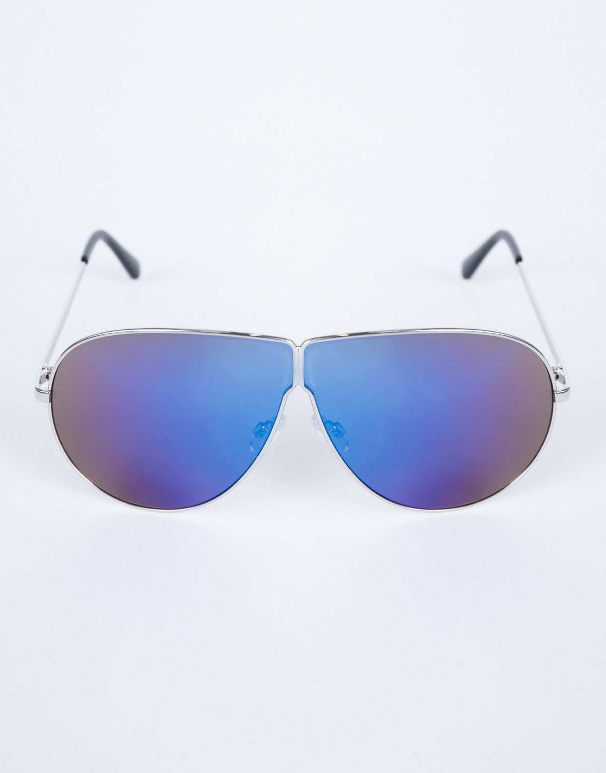 Purple Carmen Shield Sunnies - Detail