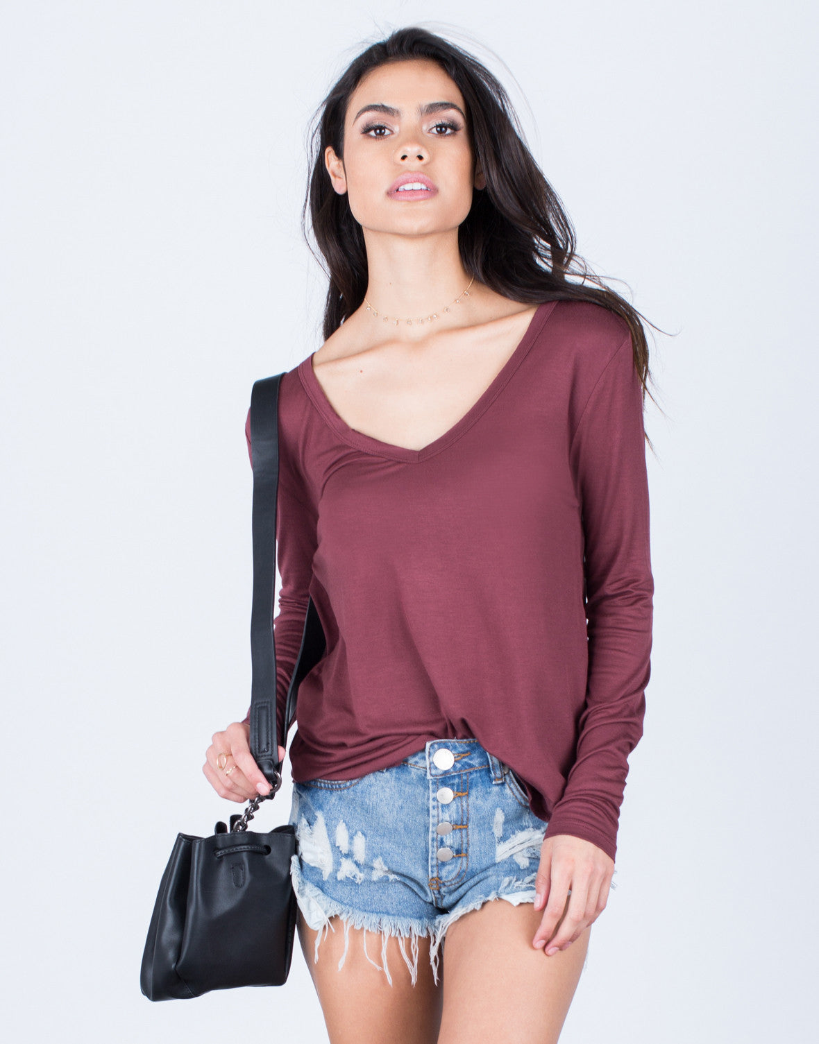 Front View of Casual Days Top