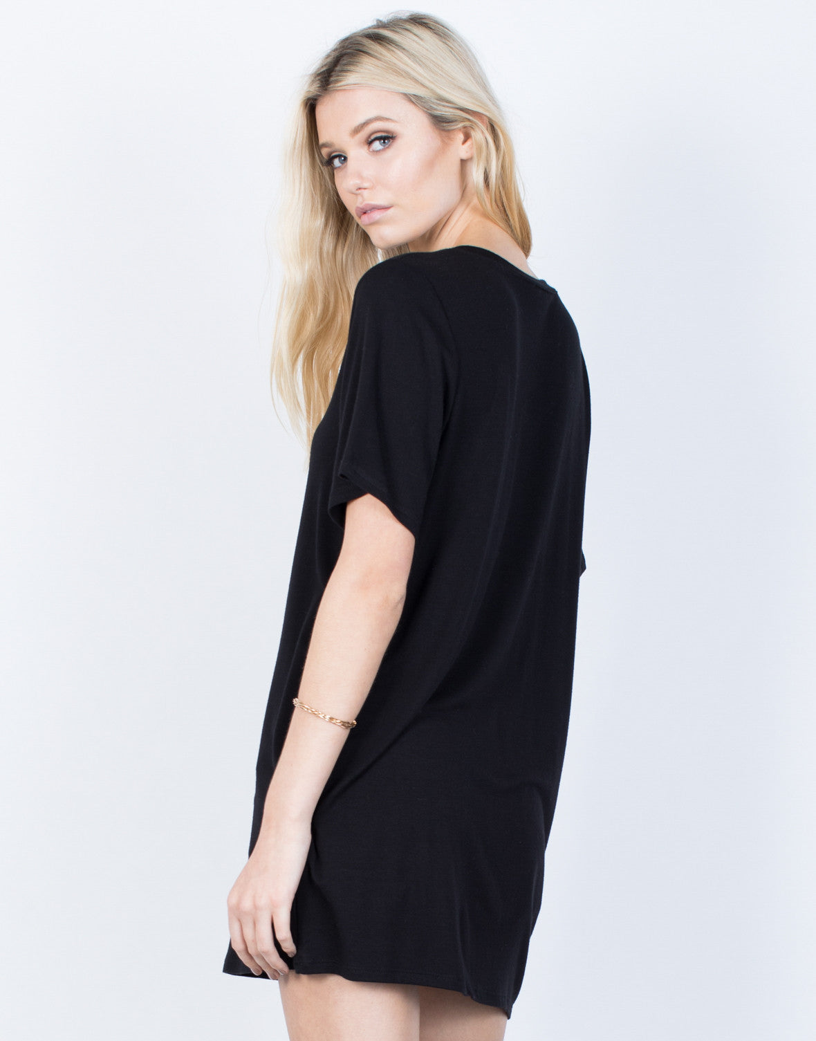 Back View of Casual Vibes Tunic
