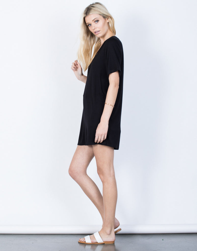 Side View of Casual Vibes Tunic