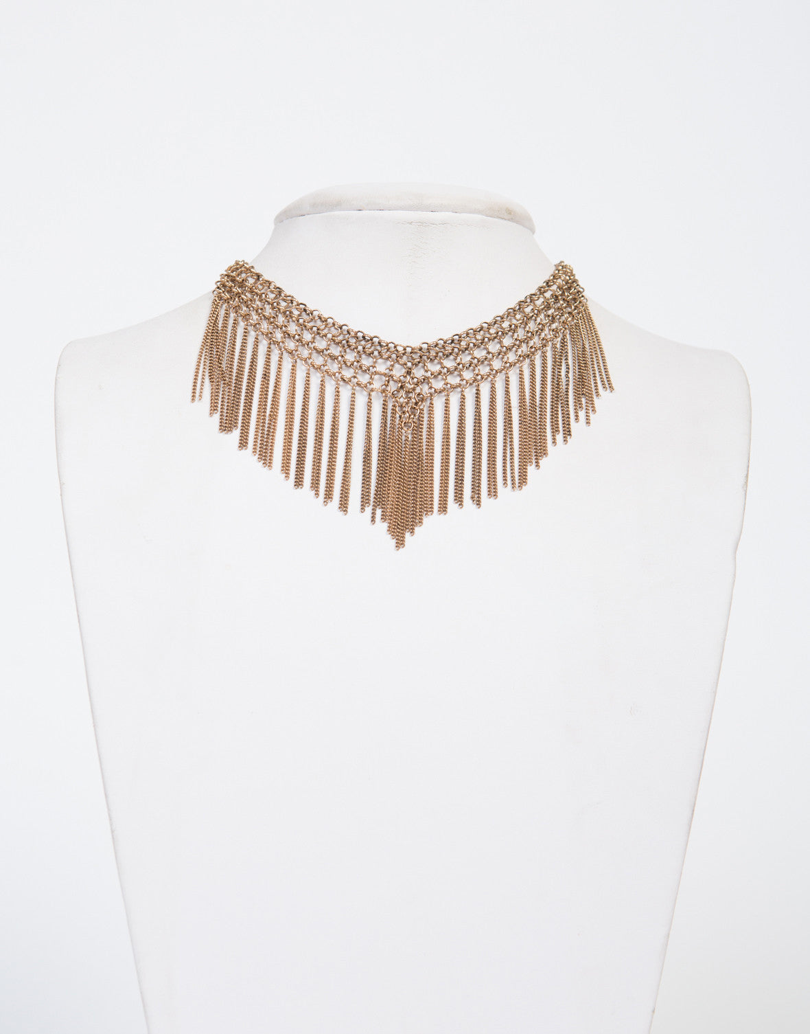 Chain Reaction Choker Necklace