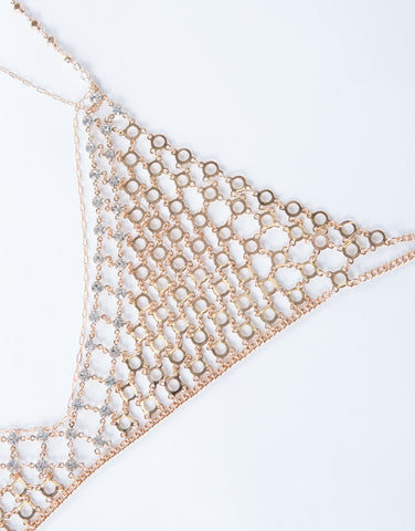 Chained Bralette Body Chain