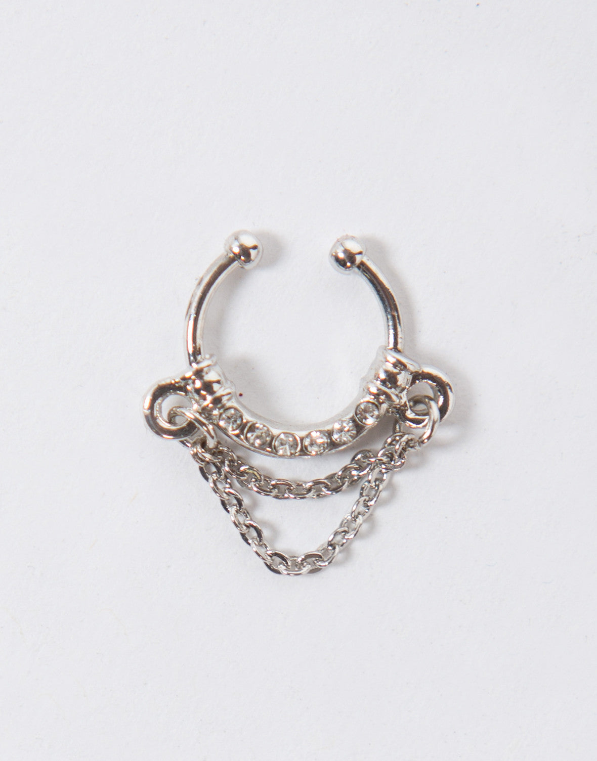 Chained Faux Septum Ring