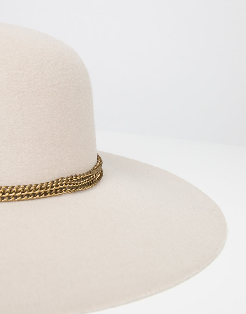 Detail of Chained Floppy Hat