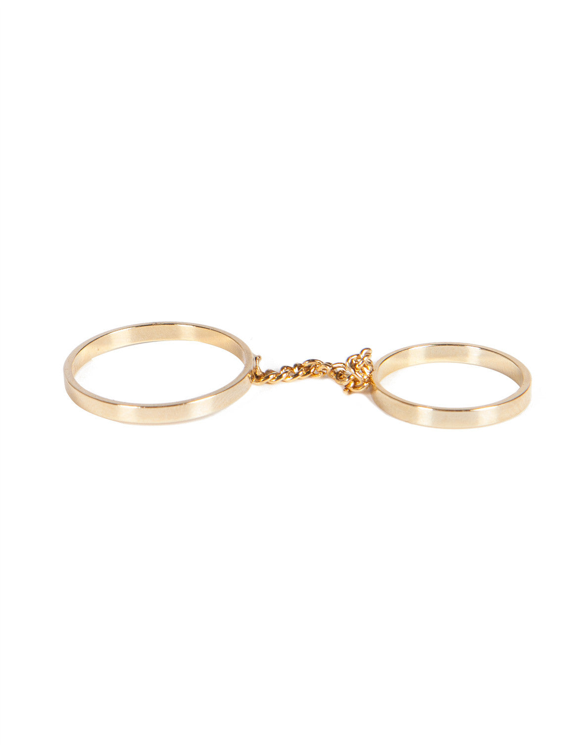 Chain Linked Ring Set