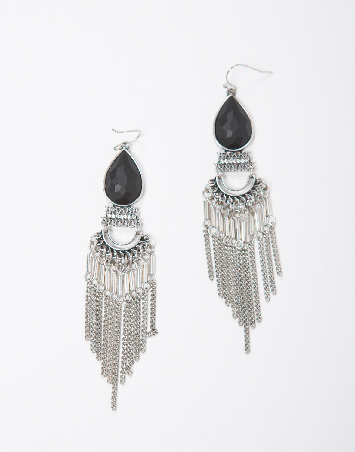 Chandelier Chained Earrings