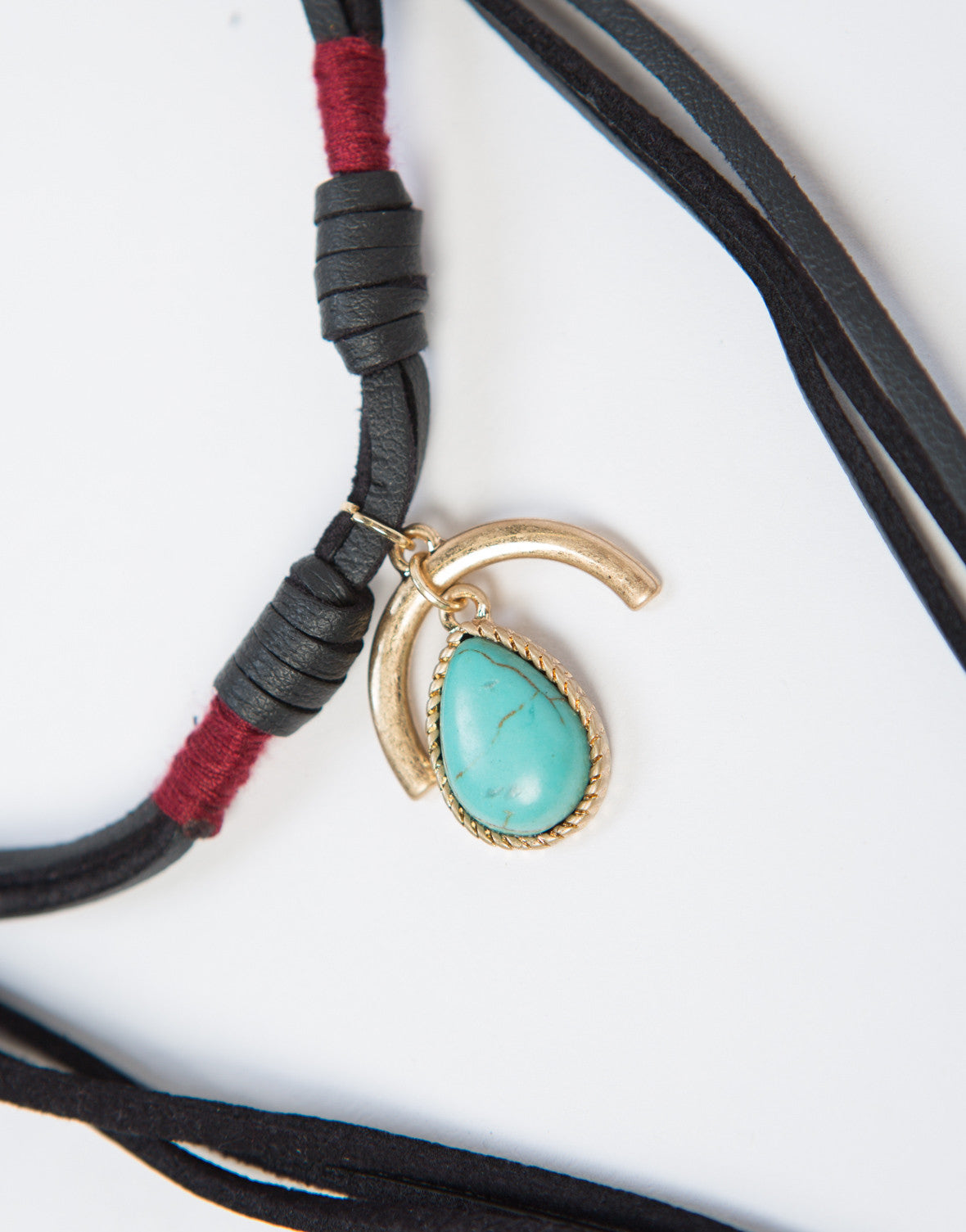 Charmed Layered Bolo Necklace