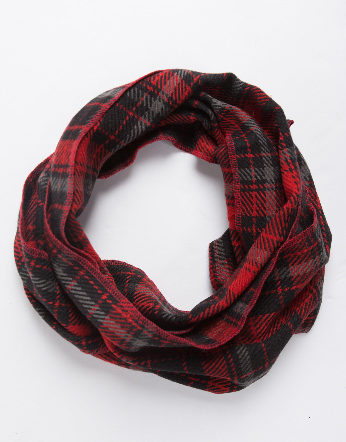 Checkered Thin Scarf