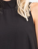 Detail of Chiffon Shift Dress