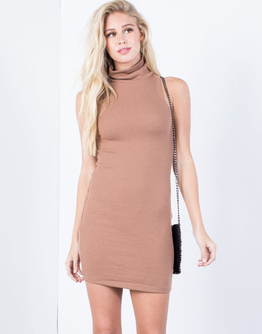 Chin Up Sweater Dress