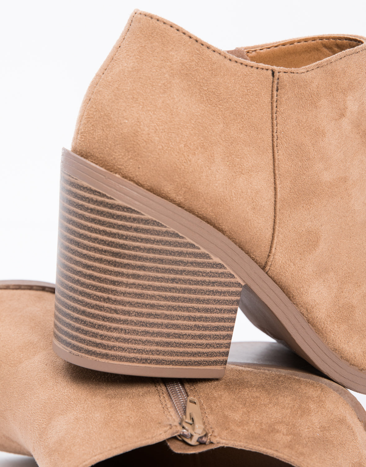 Chunky Wood Booties