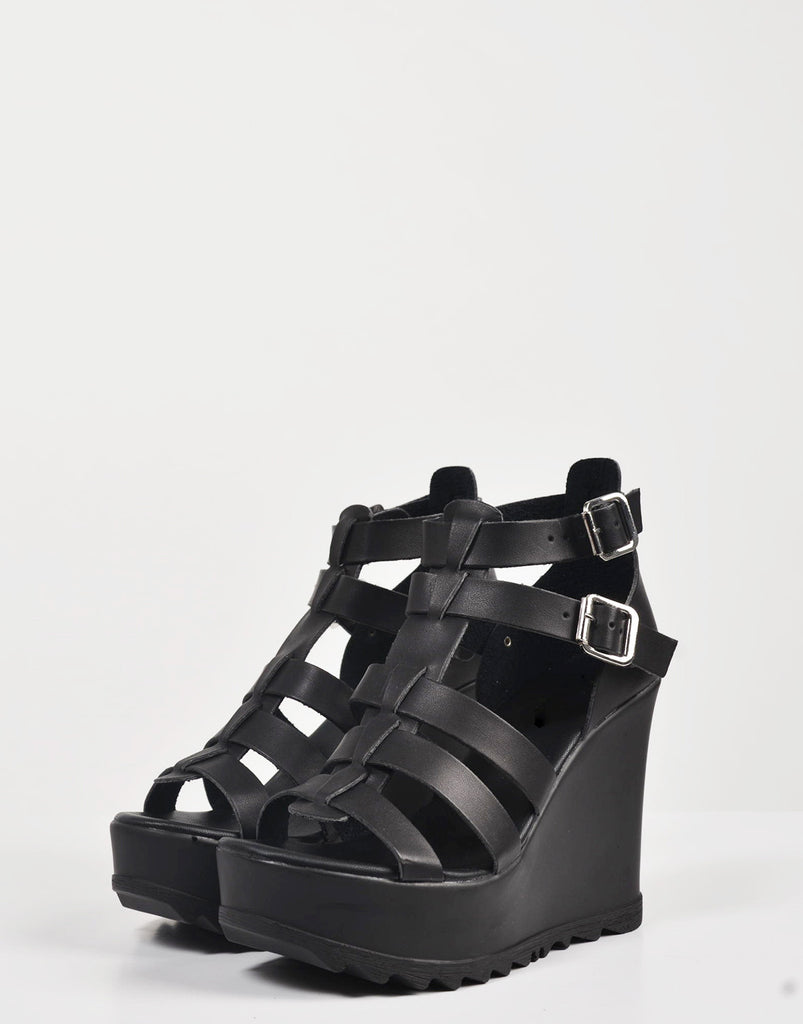 Detail of Chunky Gladiator Wedges