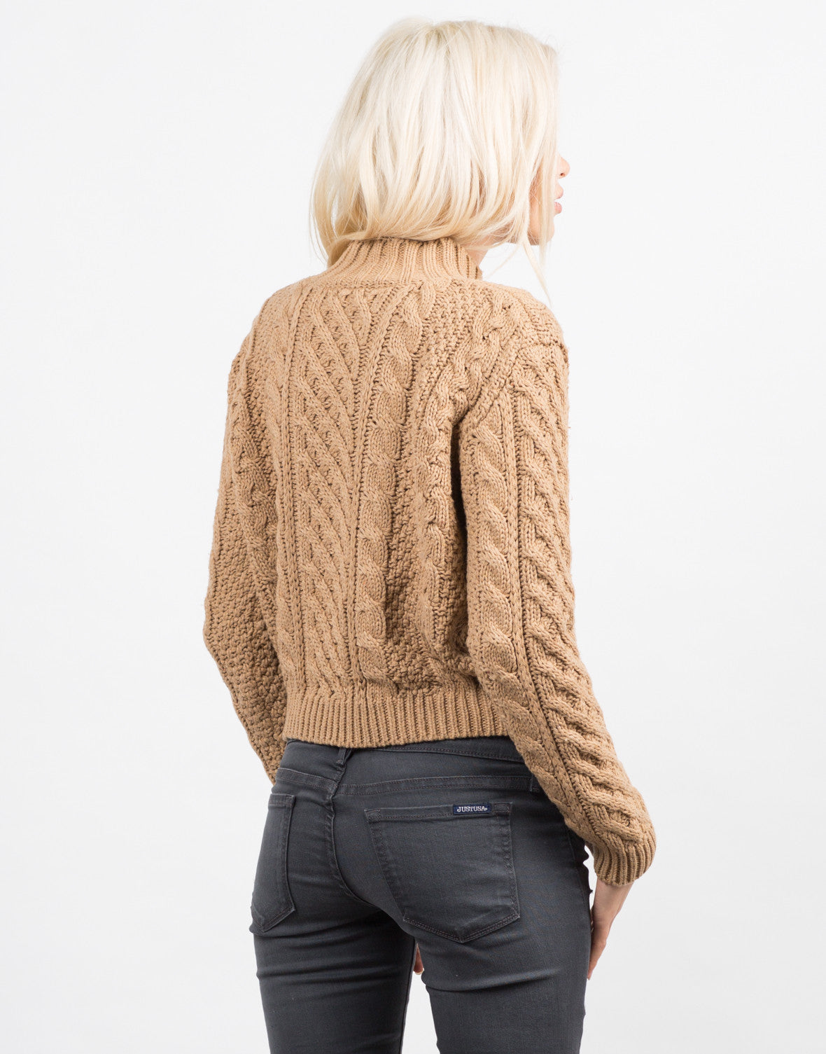 Chunky Long Sleeve Knit Sweater