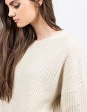 Detail of Chunky Oversized Sweater