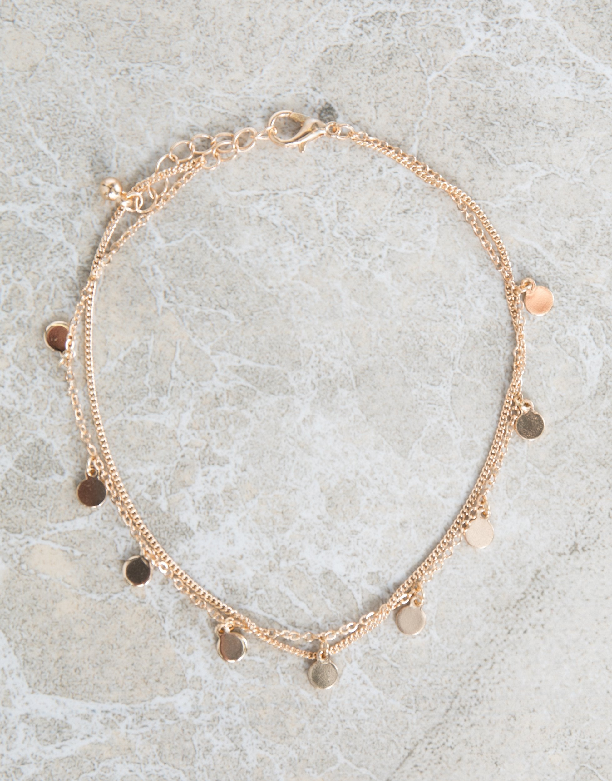 products chain infinity bracelet gold spring anklet