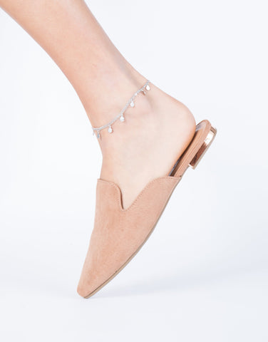 Circle it Layered Anklet