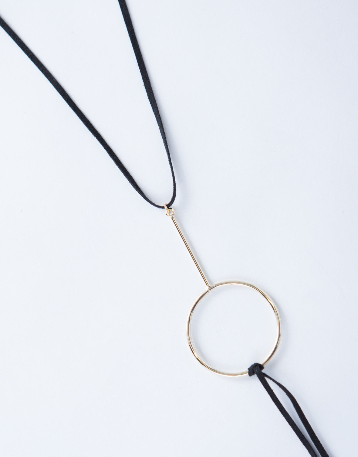 Circle Layered Choker Necklace