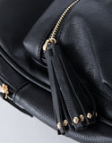 Black City Vibes Mini Backpack - Detail