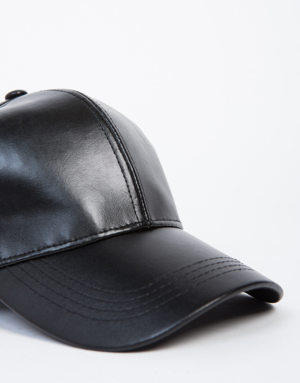City Leather Baseball Cap
