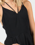 Detail of Classic Little Black Romper